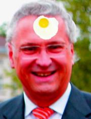 Das faule Ei des Monats März 2009: Joachim Herrmann (CSU)