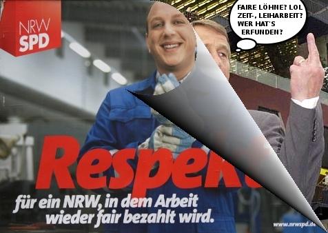 SPD_Respekt_Wahlplakat