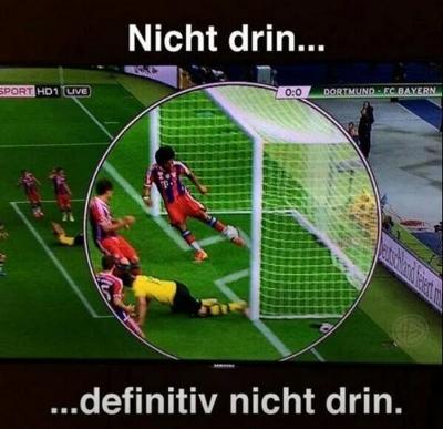 Kein Tor Bayern-BVB, Pokalfinale 2014